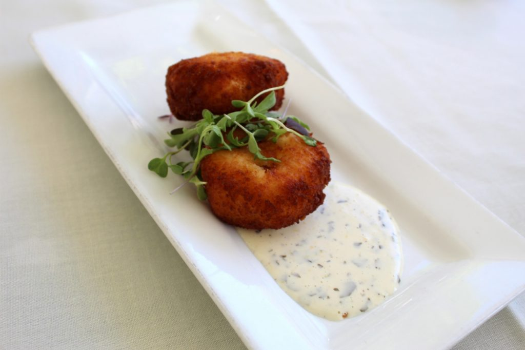 Lobster Arancini with Lemon Aioli